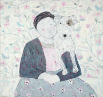 Lady With Her Dog