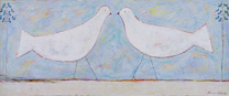 two white birds 1996