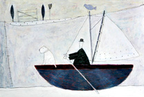 man rowing the boat 1996