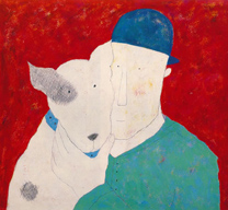 man and dog 2001