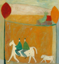two men on a horse 1995
